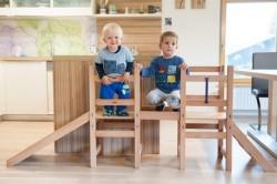 Lesena otroška garnitura
